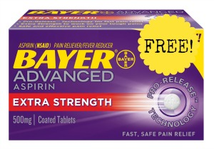 bayer advanced asprin2 FREE Bayer Advanced Aspirin at Kmart!