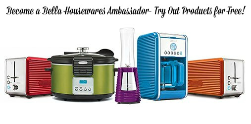 bella Become a Bella Housewares Ambassador  Try Out Products for FREE!