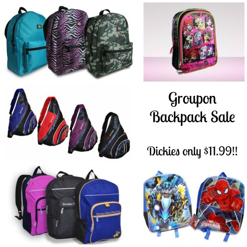 bpgr collage Groupon Backpack Sale: Dickies only $11.99 and more!