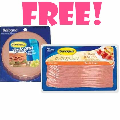 butterballdeal1 FREE Turkey Bacon or Bologna at Save a Lot!