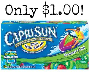 capri sun HOT! Capri Sun 10 Packs only $1.00 at Walgreens!