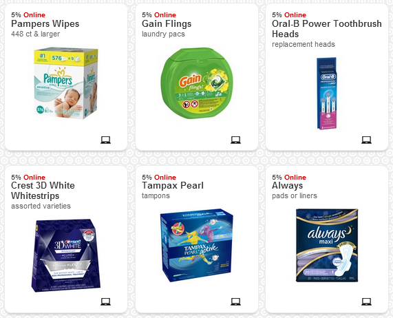 cartwheel1 Target Cartwheel Now Offering Online Offers!