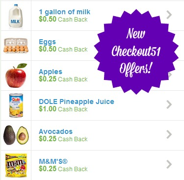 checkout511 Save on Milk, Eggs, Apples, M&Ms, and More with Checkout51!