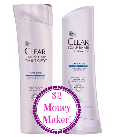 cleardeal $2 Money Maker on Clear Scalp & Hair Therapy at Rite Aid! LAST DAY
