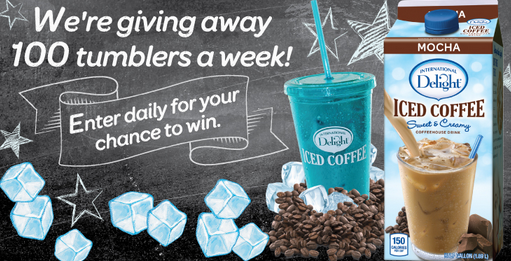 coffee FREE International Delight Tumbler Giveaway!