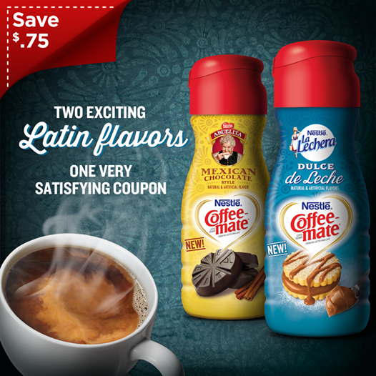 NEW USD .75 off Coffee-Mate Coupon!