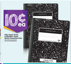 composition HOT! Office Max/Office Depot Composition Notebooks Only 10¢!