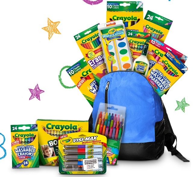 crayola sweeps Crayola Prize Pack Giveaway Sweeps