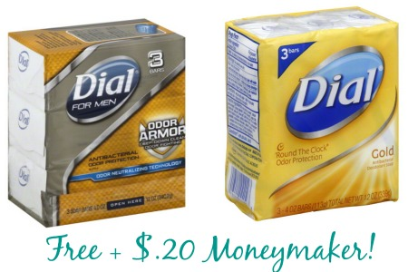 dial FREE Dial Bar Soap + $.20 Moneymaker at Walgreens!