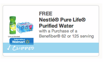 fiber FREE Nestle Pure Life Purified Water Multi Pack!