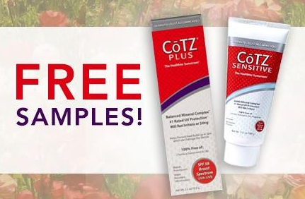free1 Get a FREE CōTZ Sunscreen Sample!