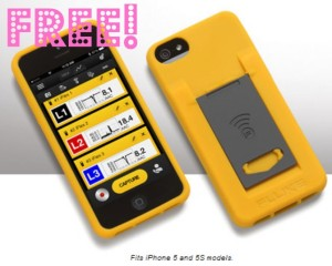 freecase 300x240 FREE iPhone Case with FREE Fluke Connect App Download!