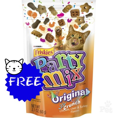 friskies FREE Friskies Party Mix Cat Treats at Publix!