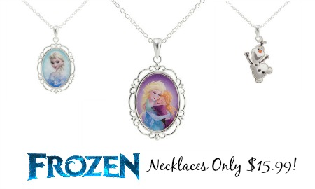 frozennecklaces Frozen Necklaces Only $15.99 from Target!
