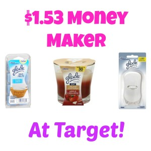 gladedeal2 300x300 HOT! $1.53 Money Maker on Glade Products at Target!