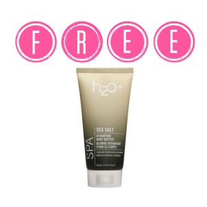 h2o 300x300 HOT! FREE H20+ Sea Salt Body Butter & Hand Cream at Walgreens!