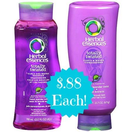 herbal essences 225x300 Herbal Essences Shampoo and Conditioner Only $.88 Each at Walgreens!