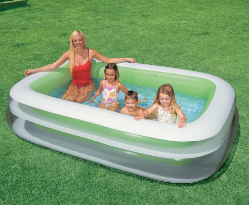 intex pool Intex Swim Center Inflatable Pool only $15 (reg $24.97)