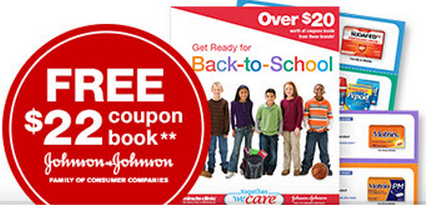johnsoncoupons FREE Johnson & Johnson Coupon Book with $22 in Coupons Inside!