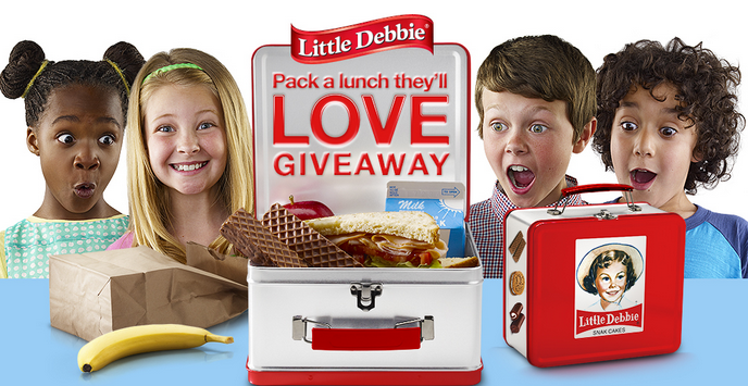 littledebbie Little Debbie Pack A Lunch Theyll Love Giveaway  Win Little Debbie Prize Packs and More!