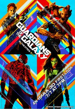 marvel Free MArvels Guardians of the Galaxy 3D First Look Screening!