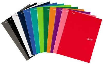 mead folders Mead Five Star 4 Pocket Poly Folders Only 49¢ at Target! Starts 7/20