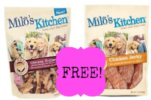 milos kitchen FREE Milos Kitchen Dog Treats at Kroger!