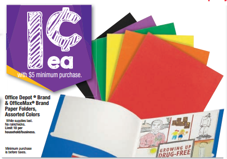 notebooks HOT! Office Max/Office School Supply Deals Week of 7/27  1¢ Notebooks, 1¢ Folders, and More!