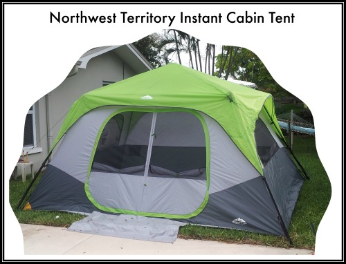 Northwest Territory Instant Cabin Tent from Kmart!  sc 1 st  Mojo Savings & Northwest Territory Instant Cabin Tent from Kmart! | Mojosavings.com