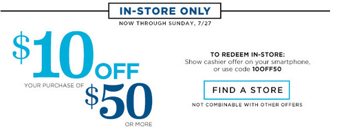 oldnavy10 Old Navy: This Weekend Only  $3 Tanks, $6 Tees and Sandals, & $9 Shorts + $10 off In Store!
