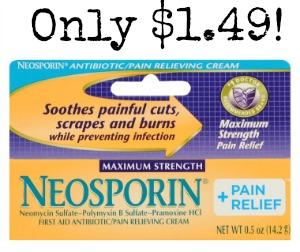 pDGC1 12183422v380 Neosporin and Benadryl Cream only $1.49 at Walgreens!