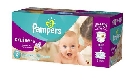 pampers cruisers Free $25 Target Gift Card when you buy 2 Pampers Diaper & Wipes Combo Packs at Target.com!