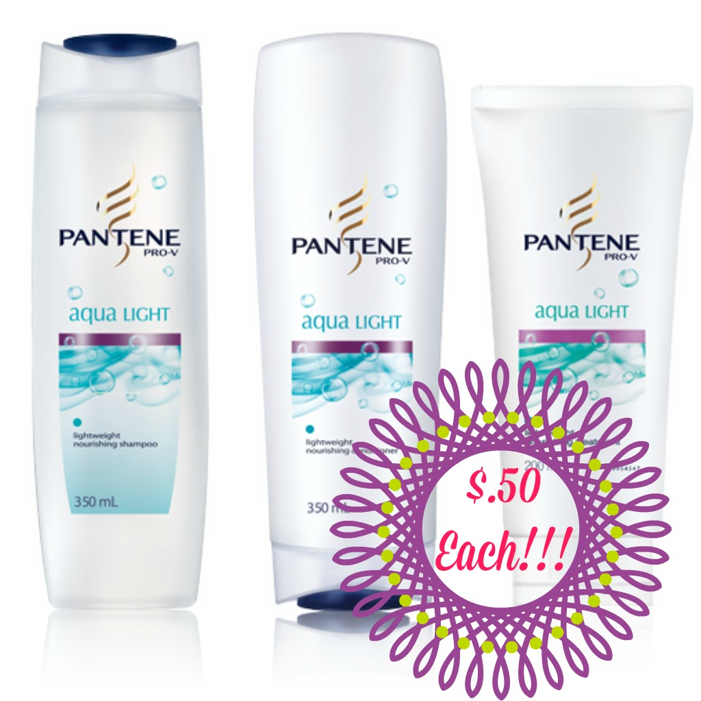 pantene HOT! Pantene Hair Products Only $.50 Each at Rite Aid!