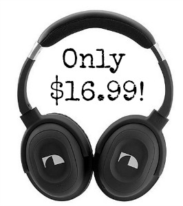 phones Nakamichi NC40 Noise Cancelling Headphones only $16.99 at Sears!