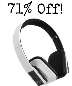 phones1 RevJams Xec On Ear HD Wireless Bluetooth Stereo Headphones only $19.99 (reg $69.99)!
