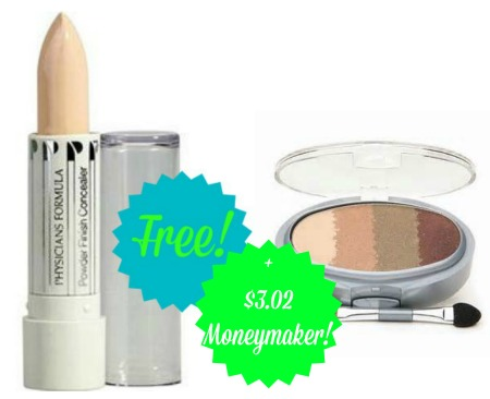 physiciansformula FREE + $3.02 Moneymaker on Physicians Formula Cosmetics at CVS!