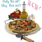 Sandra by Sandra Lee Pizza Stone, Sandra by Sandra Lee Pizza Stone deal, online deals, pizza stone
