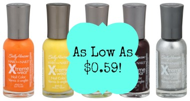 polish1 Sally Hansen Nail Polish, as Low as $0.59 at CVS!