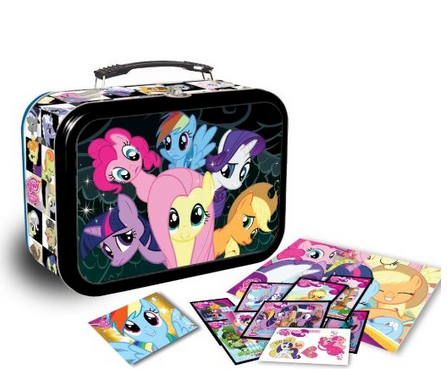 pony My Little Pony: Friendship is Magic Canterlot Collector's Tin Lunchbox only $11.99!