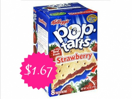 poptarts Pop Tarts Only $1.67 a Box at Walgreens!