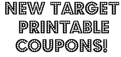 print Hot! New Target Printable Coupons!