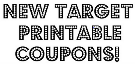 print1 HOT! New Target Printable Coupons!