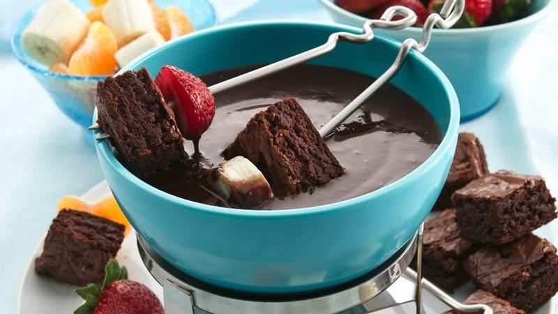 recipe Brownies and Chocolate Raspberry Fondue Recipe!