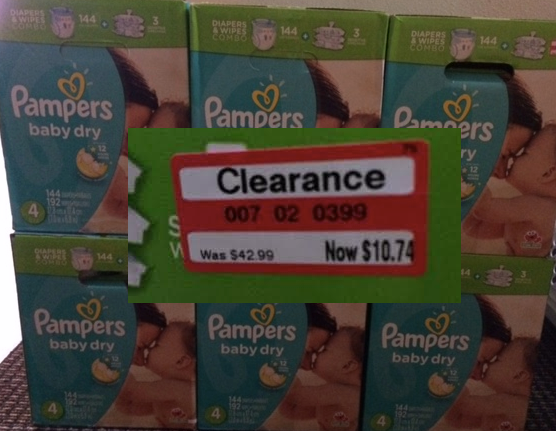 screen shot 2014 07 28 at 6 21 28 pm Pampers Baby Dry Diapers, only $7.74 (reg $42.99) at Target!