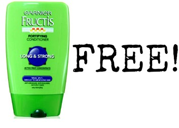shampoo FREE Garnier Shampoo at Dollar Tree!