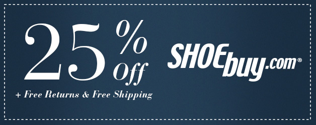 shoebuy Shoebuy: 25% off Your Purchase + Free Shipping!