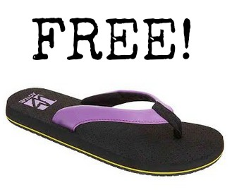 show FREE Flip Flops at Lane Bryant!