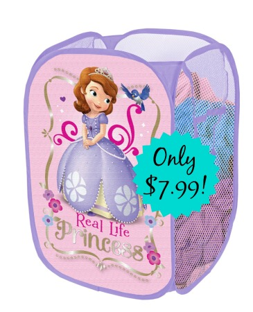sofiathefirst Disney Sofia the First Pop Up Hamper Only $7.99 (Reg. $11.99!)