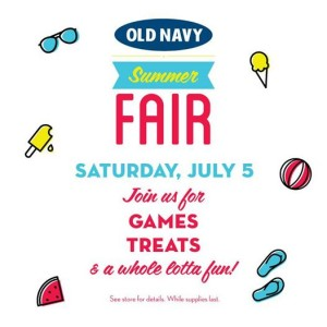 summerfair 300x300 HOT! Old Navy Swimwear For the Family Only $5 + Summer Fair In Stores! TODAY ONLY!