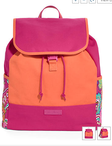 vera backpack 50% off Vera Bradley Canvas Backpacks!